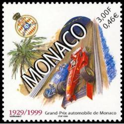 Timbre de Monaco N° 2200...