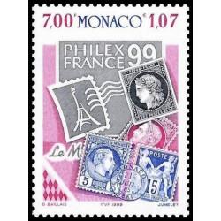 Timbre de Monaco N° 2212...