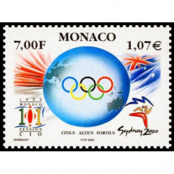 Timbre de Monaco N° 2239...