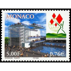 Timbre de Monaco N° 2252...