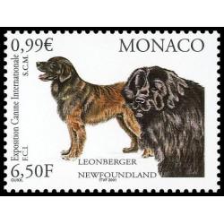 Timbre de Monaco N° 2296...