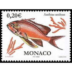Timbre de Monaco N° 2328...