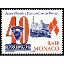 Timbre de Monaco N° 2389