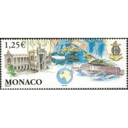 Timbre de Monaco N° 2392
