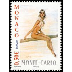 Timbre de Monaco N° 2393