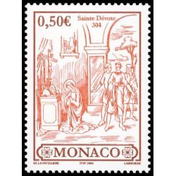 Timbre de Monaco N° 2418...