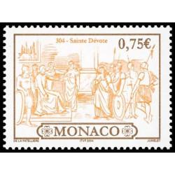 Timbre de Monaco N° 2419...