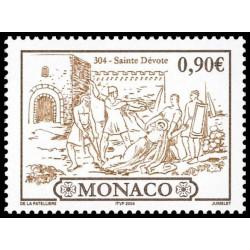 Timbre de Monaco N° 2420...