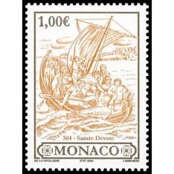 Timbre de Monaco N° 2421...