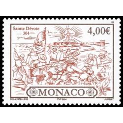Timbre de Monaco N° 2422...