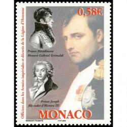 Timbre de Monaco N° 2445...