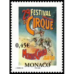 Timbre de Monaco N° 2461...