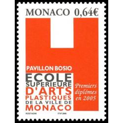 Timbre de Monaco N° 2483...