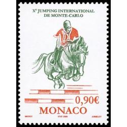 Timbre de Monaco N° 2486...