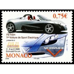 Timbre de Monaco N° 2487...
