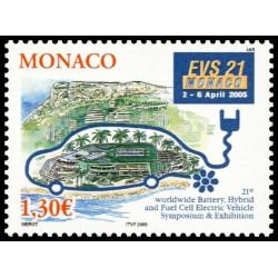 Timbre de Monaco N° 2488...
