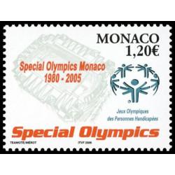 Timbre de Monaco N° 2493...