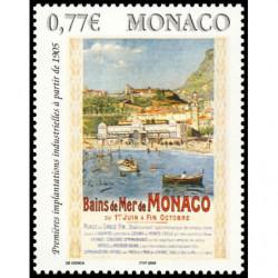 Timbre de Monaco N° 2494...