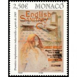 Timbre de Monaco N° 2495...