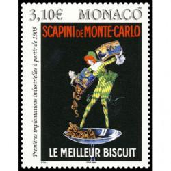 Timbre de Monaco N° 2496...
