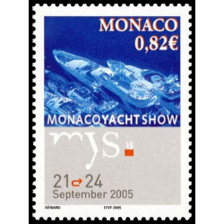 Timbre de Monaco N° 2497...