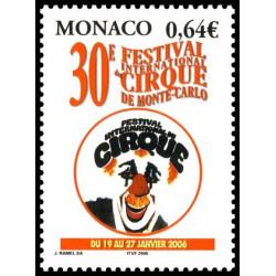 Timbre de Monaco N° 2522...