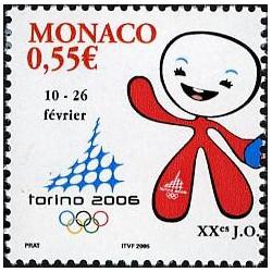 Timbre de Monaco N° 2529...