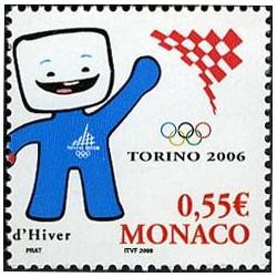 Timbre de Monaco N° 2530...