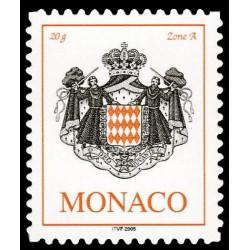 Timbre de Monaco N° 2535...