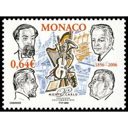 Timbre de Monaco N° 2536...