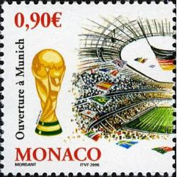 Timbre de Monaco N° 2539...