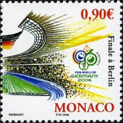 Timbre de Monaco N° 2540...
