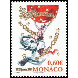 Timbre de Monaco N° 2566...