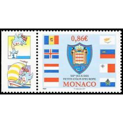 Timbre de Monaco N° 2592
