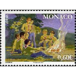 Timbre de Monaco N° 2593
