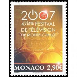 Timbre de Monaco N° 2595...