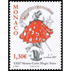 Timbre de Monaco N° 2598...