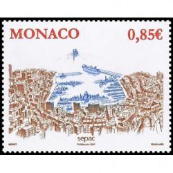 Timbre de Monaco N° 2600...