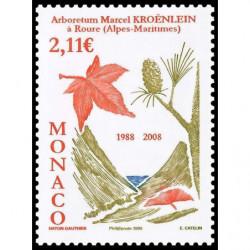 Timbre de Monaco N° 2607...