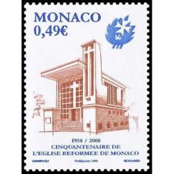 Timbre de Monaco N° 2608...