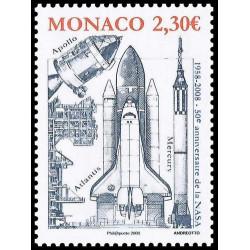 Timbre de Monaco N° 2619...