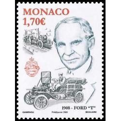 Timbre de Monaco N° 2621...