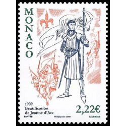 Timbre de Monaco N° 2663