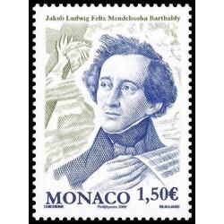 Timbre de Monaco N° 2664