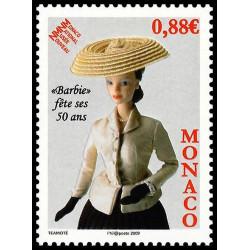 Timbre de Monaco N° 2667