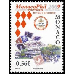 Timbre de Monaco N° 2670...