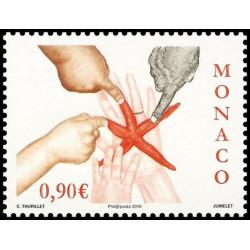Timbre de Monaco N° 2730