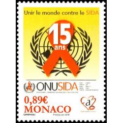 Timbre de Monaco N° 2738...