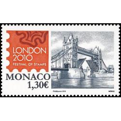 Timbre de Monaco N° 2741...