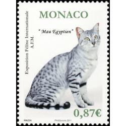 Timbre de Monaco N° 2758